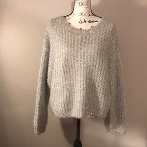 Size large Sparkly Sweater from H&M